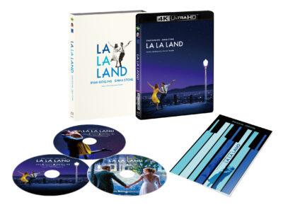 ラ・ラ・ランド 4K ULTRA HD&本編Blu-ray&特典Blu-ray <3枚組>【初回生産限定】スペシャルアウターエース&ブックレット付